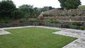 Alison Bockh Garden Design and Landscaping - North Devon - One year on and planting looking good